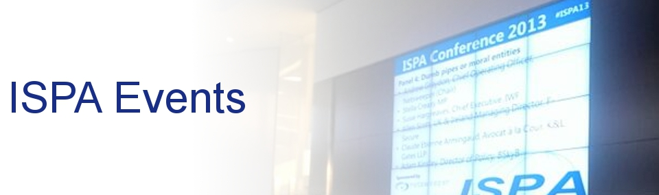 ISPA Conference: 18th November 2015, BT Tower
