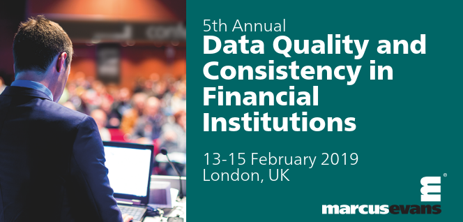 5th Annual Data Quality and Consistency in Financial Institutions